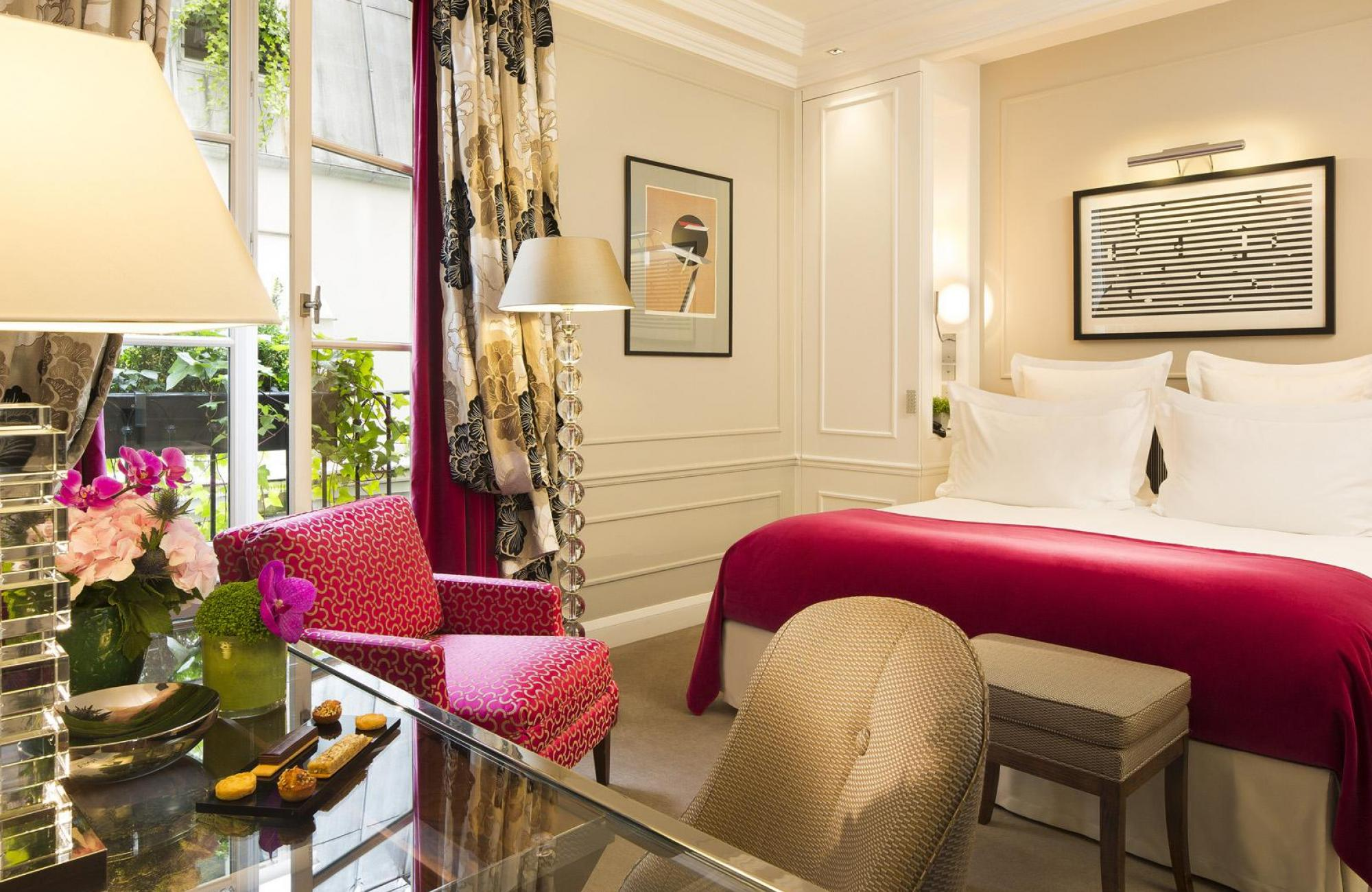 Le Burgundy Paris - Quarto Superior