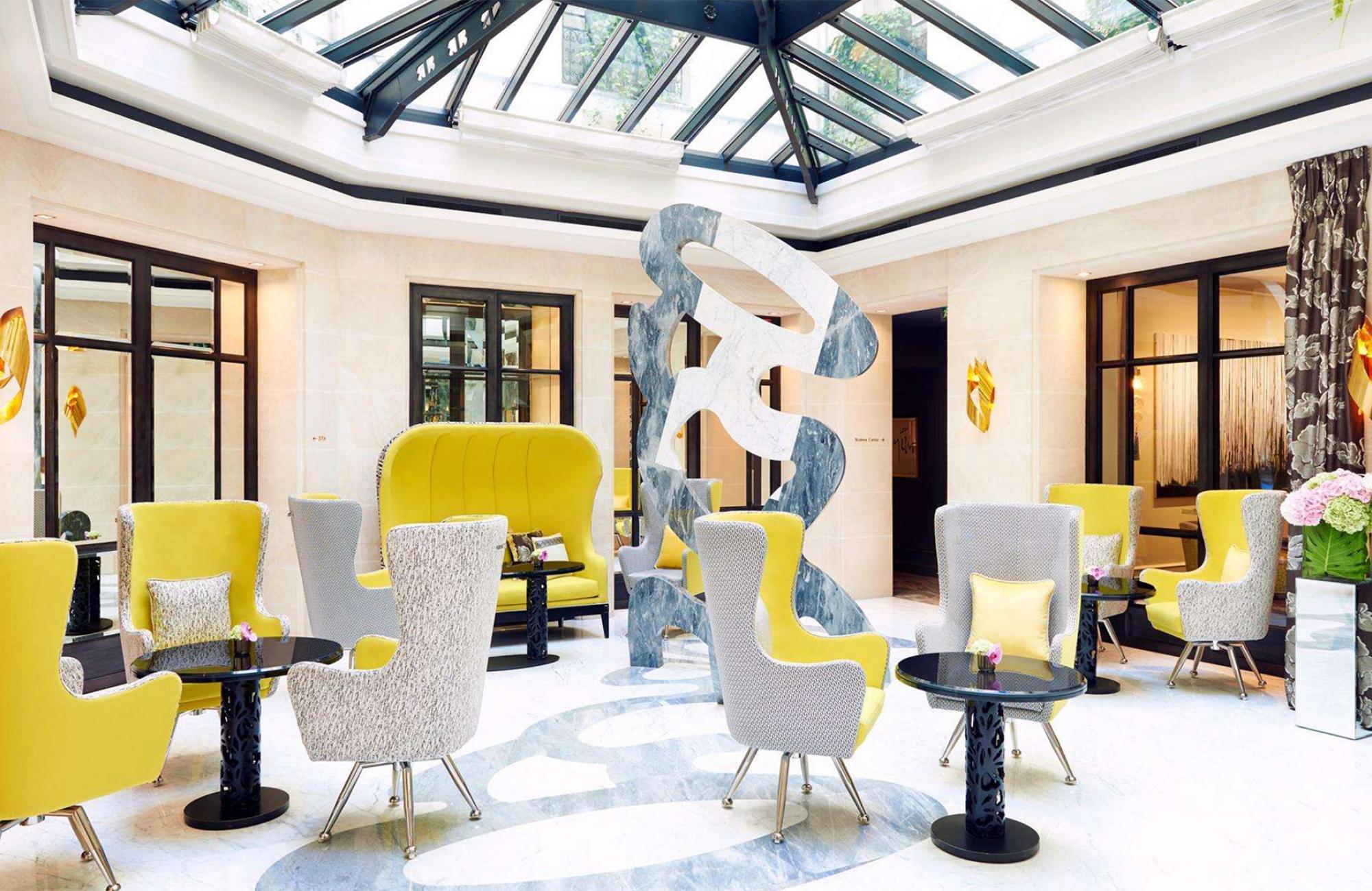 Le Burgundy Paris - Réception