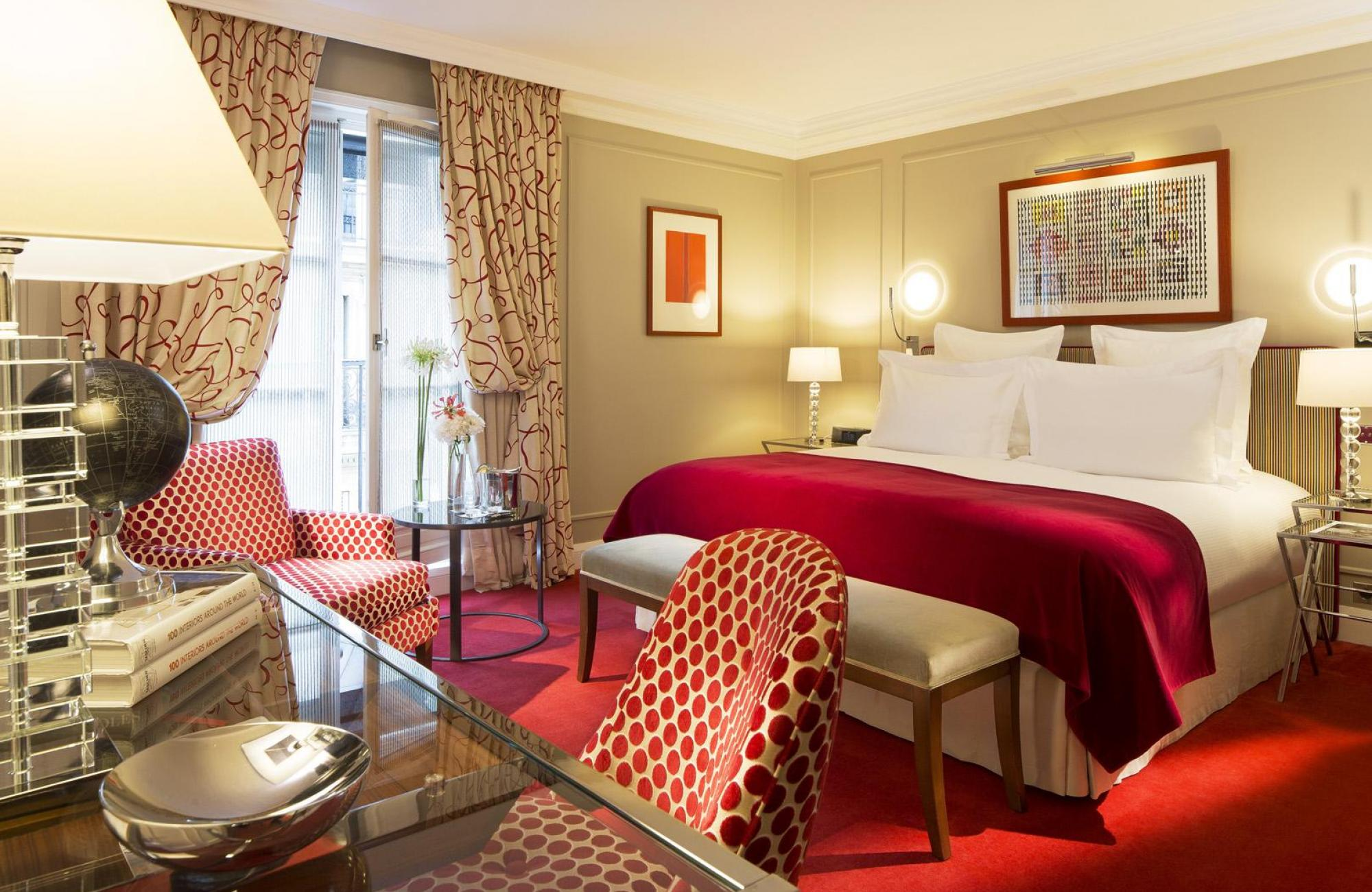 Le Burgundy Paris - Deluxe Room