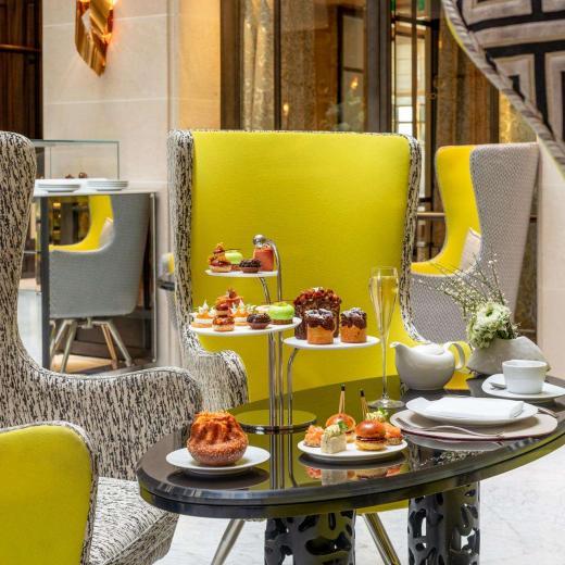 Le Burgundy Paris - Afternoon Tea Verrière