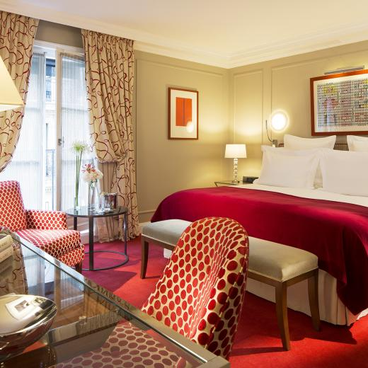 Le Burgundy Paris - Chambre Deluxe