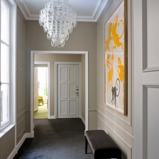 Le Burgundy Paris - Couloir