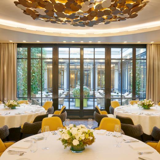 Le Burgundy Paris - Rotonde Restaurant Le Baudelaire